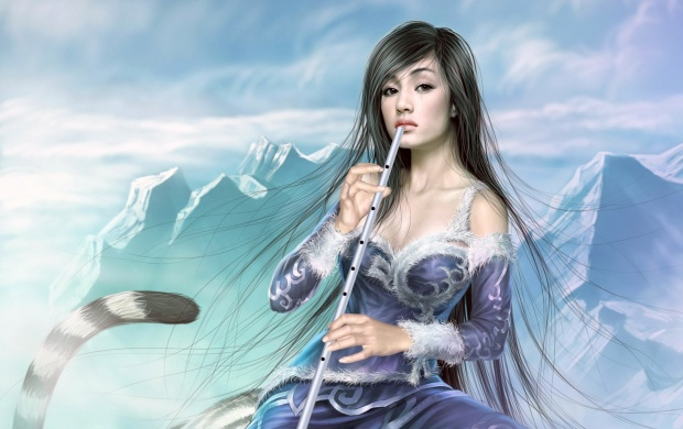 Girl With A Flute (click to view)