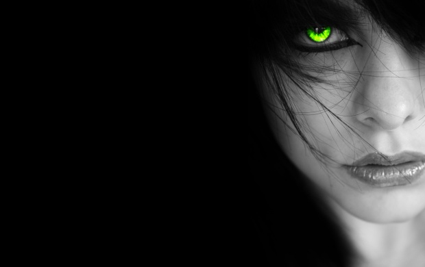Girl With Green Eyes (click to view)