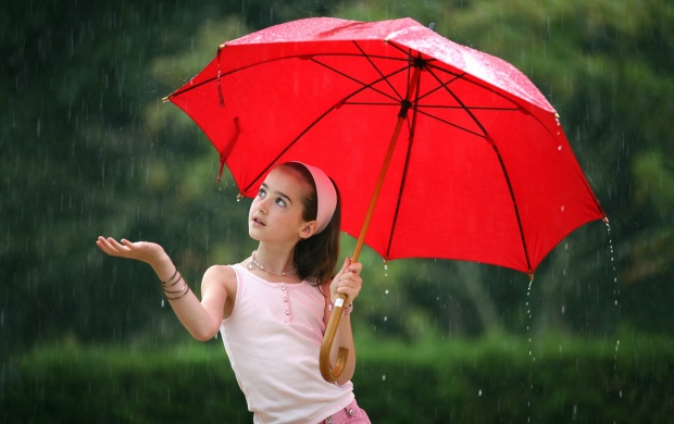 Girls In Rain (click to view)