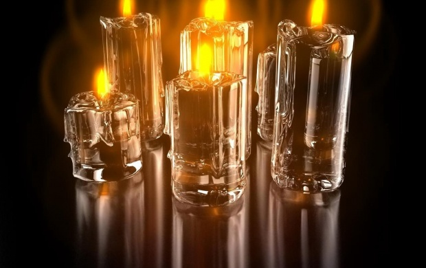 Glass Candle (click to view)