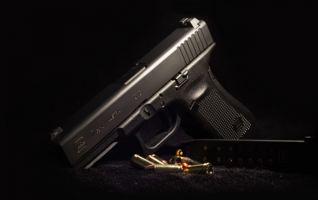 Glock 17 Ammunition Background Click To View