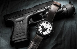 Glock German Gun And Watches
