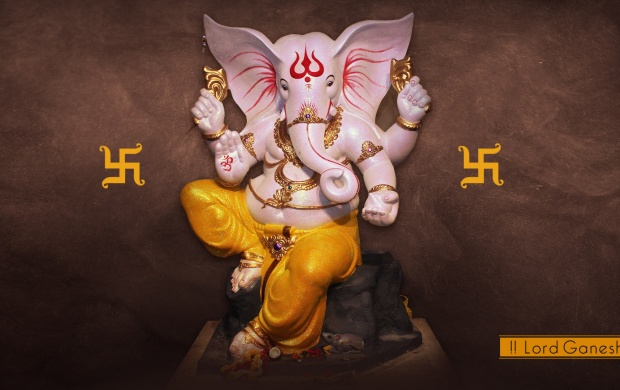 God Ganesha Stone Statue (click to view)