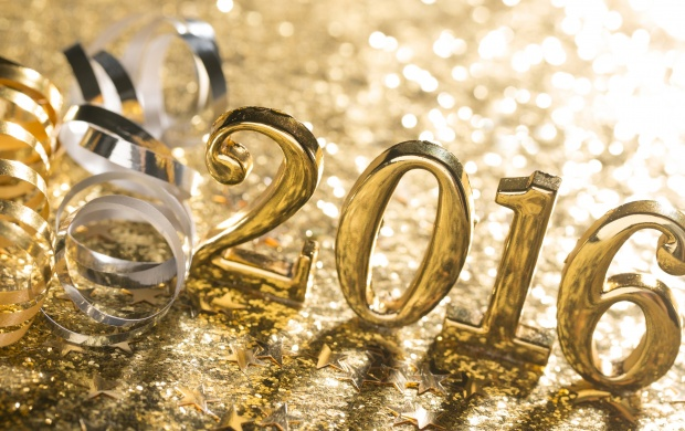 Gold New Year 2016 Bokeh (click to view)