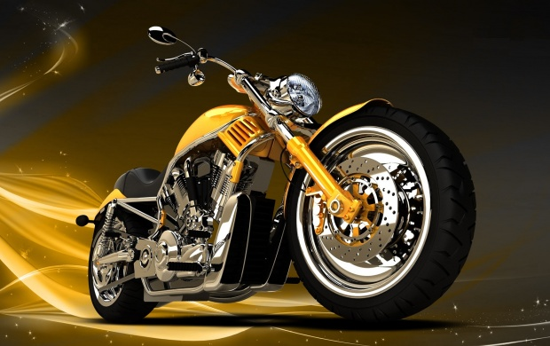 Golden Chopper Bikes (click to view)