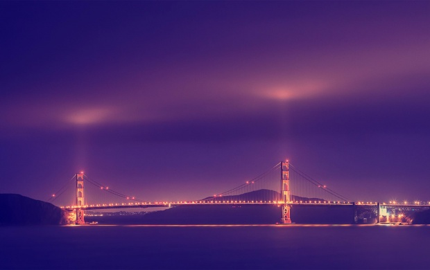 Golden Gate Bridge In Fog (click to view)