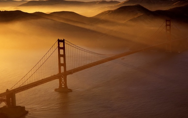 Golden Gate Bridge Sunset (click to view)