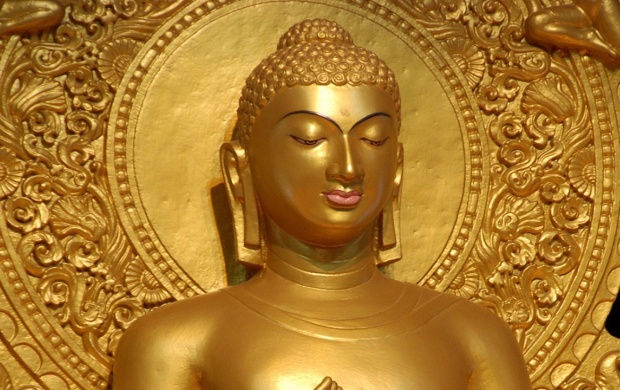 Golden Lord Buddha (click to view)