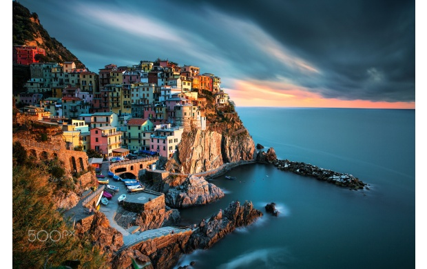 Gorgeous Cinque Terre Sunset (click to view)