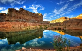 Grand Canyon Lake Reflection