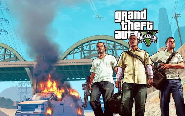Grand Theft Auto V (click to view)
