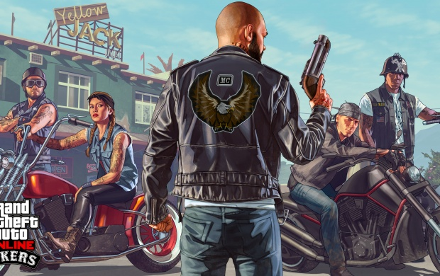 Grand Theft Auto V Bikers (click to view)