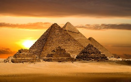 Great Pyramids Egypatian