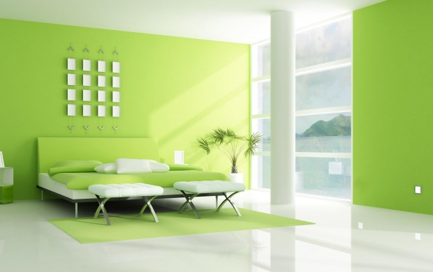 Green 3D Home (click to view)