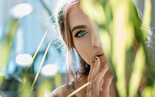 Green Eyes Girl (click to view)