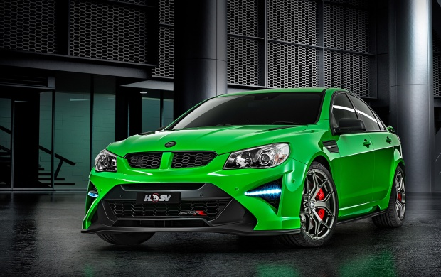 Green Holden HSV GTSR 2017 (click to view)
