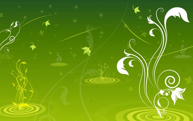 Green Swirls (click to view)