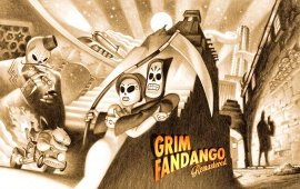 Grim Fandango Remastered Game 2015