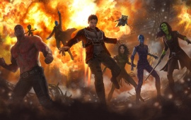 Guardians Of The Galaxy Vol. 2 2017 Art