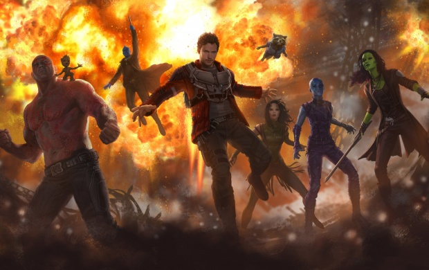 Guardians Of The Galaxy Vol. 2 2017 Art (click to view)