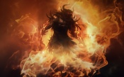 Guild Wars 2 Monster In Fire