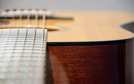 Guitar Music Close Up