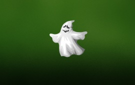 Halloween White Ghost