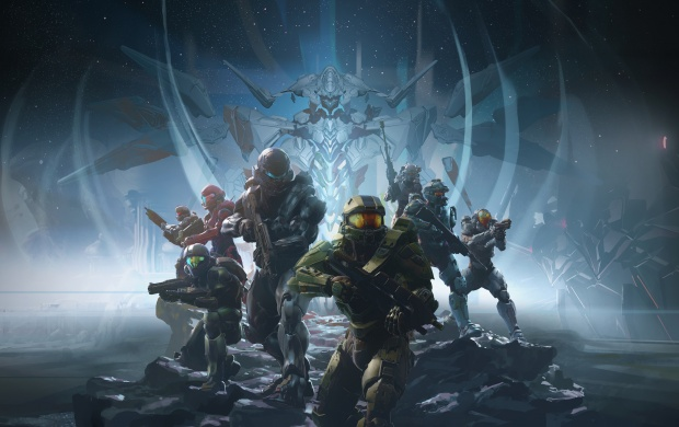 Halo 5 Guardians Key Art (click to view)