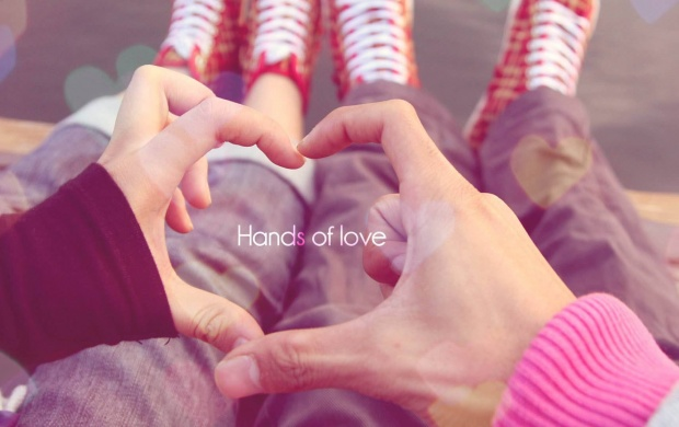 Hands Of Love Couple (click to view)