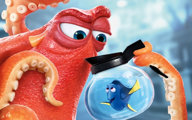 Hank And Dory In Finding Dory (click to view)