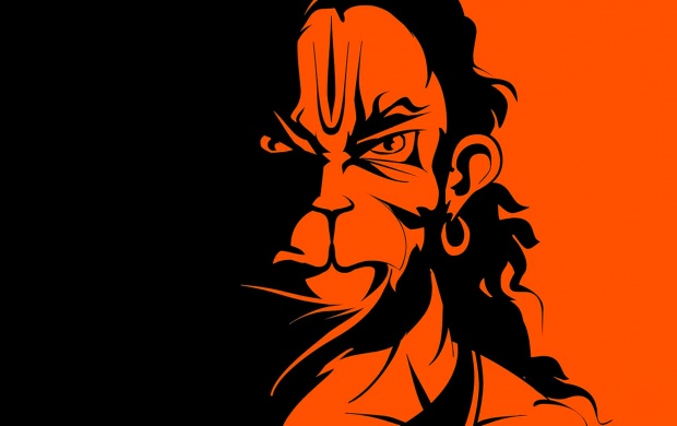 Hanumanji Vector (click to view)