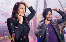 Happy Ajay Devgn In Son Of Sardaar