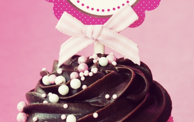 Happy Birthday Cupcake Click To View