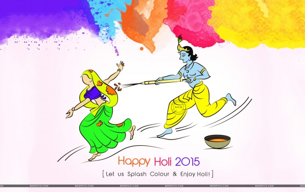 Happy Colorful Festival Holi 2015 (click to view)
