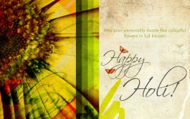 Happy Holi Greeting Cards