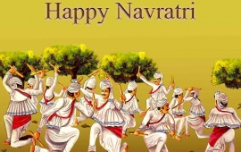 Happy Navratri Garba