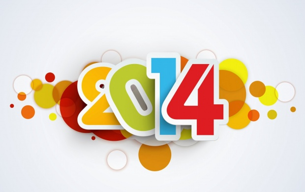 Happy New Year 2014 Vector (click to view)