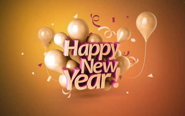 Happy New Year 3D 2015 (click to view)