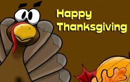 Happy Thanksgiving Day With Tofurky