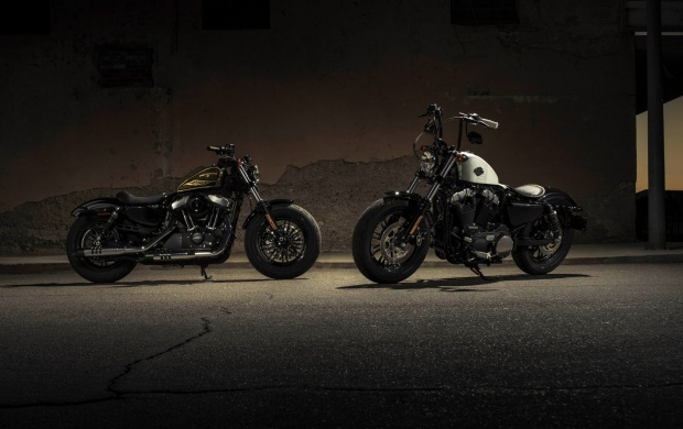 5186 Views Harley Davidson Forty Eight 2017