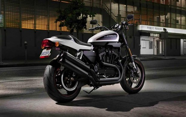 Harley Davidson XL1200C (click to view)