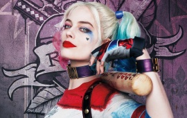 Harley Quinn Suicide Squad Poster