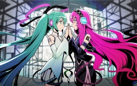 Hatsune Miku And Luka
