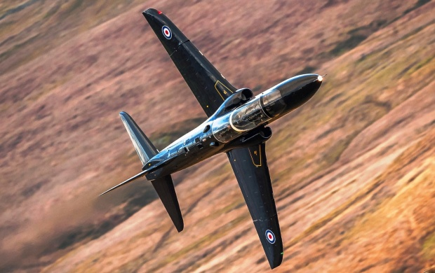 Hawk T1A Attack Aircraft (click to view)