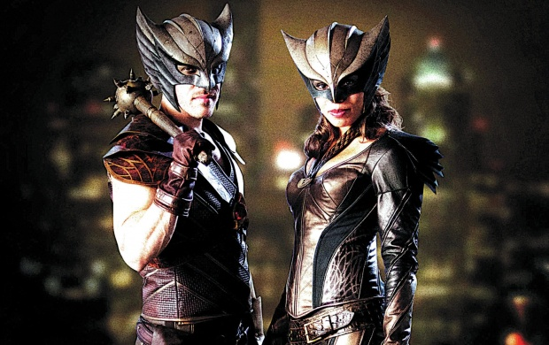 Hawkman And Hawkgirl Legends Of Tomorrow (click to view)