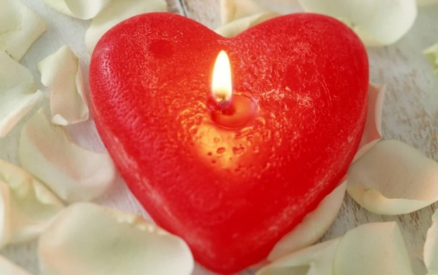 Heart Candle (click to view)