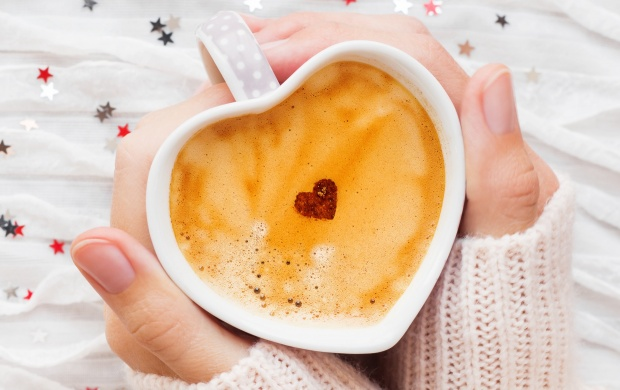 Heart Coffee Cup Little Stars (click to view)