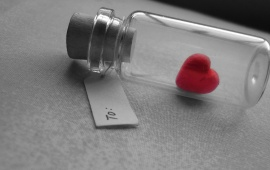 Heart In A Bottle
