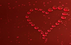 Heart Macro Drops Love