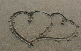 Heart On Art Sand